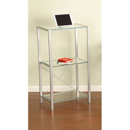 Glass Bookcase, Clear