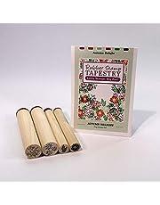 Kwiaty i gałązki gumowe znaczki marki Rubber Stamp Tapestry - SFL34121
