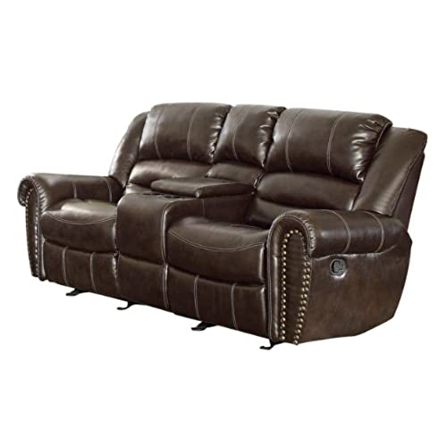 Dual Reclining Loveseat: Amazon.com