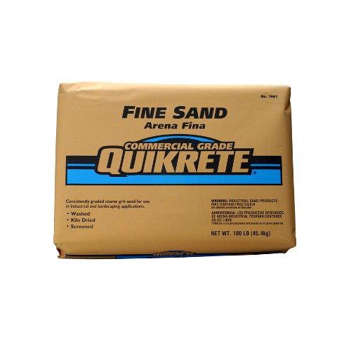 Quikrete Companies TV205157 100 lb Fine Grade Sand by Quikrete