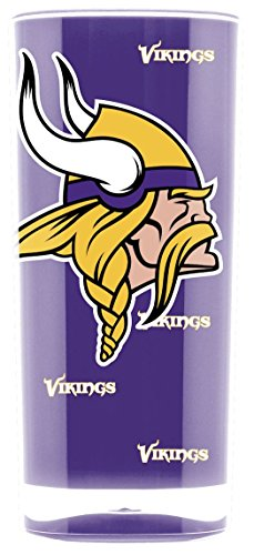 (NFL Minnesota Vikings 16oz Insulated Acrylic Square)