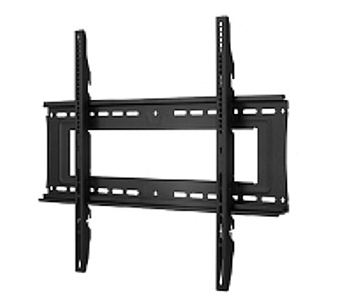 Atdec TH-40100-UF Heavy Duty Fixed Display TV Wall Mount with Lockable Security Bar for Displays up to 330-Pound, Black by Atdec