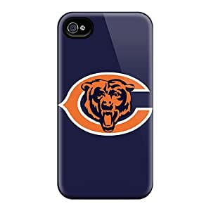 Franiry79c24 Perfect Tpu Cases For Iphone 6plus/ Anti-scratch Protector Cases (chicago Bears Logo)