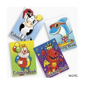 72-pack of Kid's Coloring Books ~ Great Party Favors! Assorted Designs for $<!--$9.71-->