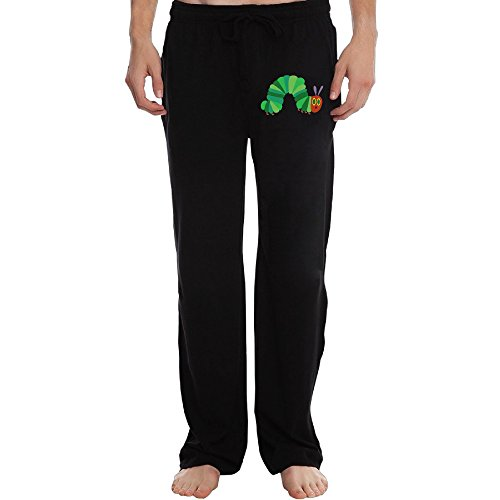 PTR Men's The Very Hungry Insect Sweatpants Color Black Size L