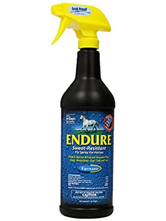 Endure Sweat Resistant Fly Spray For Horses 1 Qt