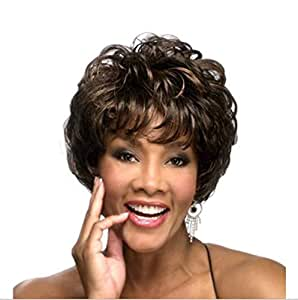 Shaggy wigs with short hair for Women