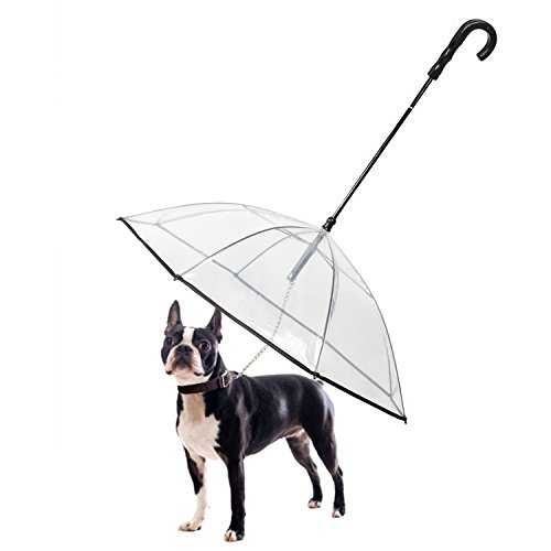Dog Umbrella Pet Umbrella with Leash - K&L Pet