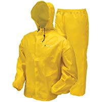 frogg toggs Men's Waterproof Ultra-Lite2 Suit, Bright...