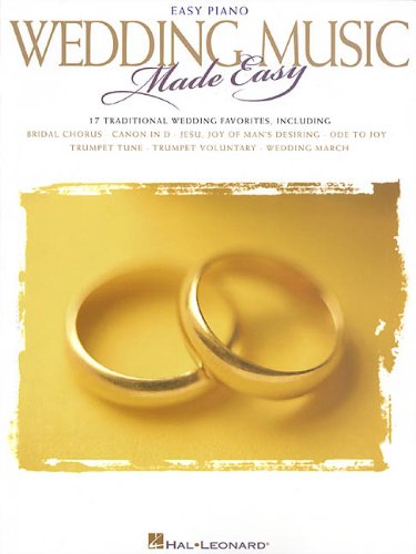 (Wedding Music Made Easy: Easy Piano)