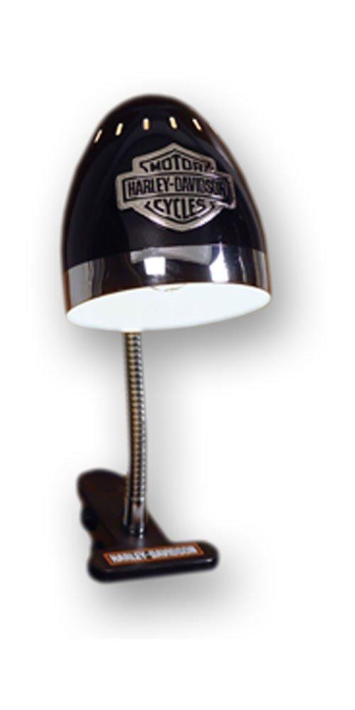 Harley-Davidson Adjustable Clip-On Lamp