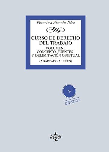 Descargar Libro Curso De Derecho Del Trabajo Francisco Alemán Páez