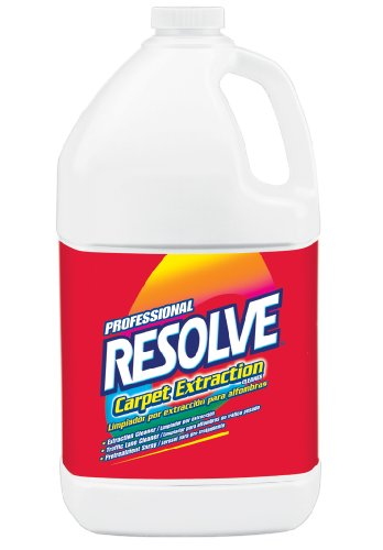 Resolve Professional Carpet Extraction Cleaner, 4 Gallons (4 Bottles x 1 Gallon)