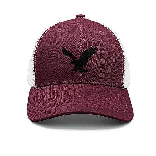 226856c4dfa8a PEILIHAU Unisex Black American Eagle Beach Running Baseball caps