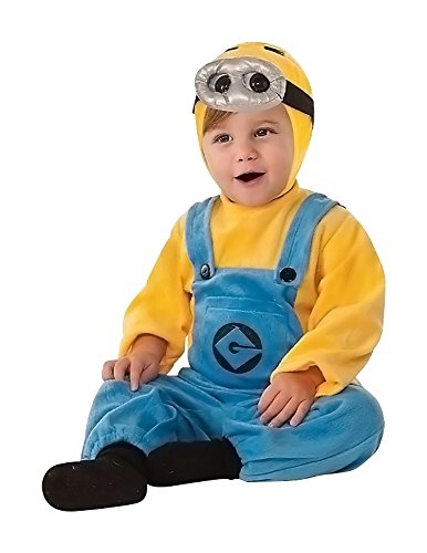 Baby Dave Minion Costume - Despicable Me 2 Size 6-12 Month -