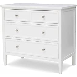 Delta Children's Epic 3-Drawer Dresser white