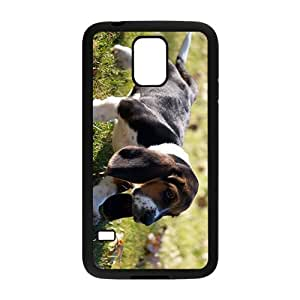 Dog On The Grass Hight Quality Plastic Case for Samsung Galaxy S5