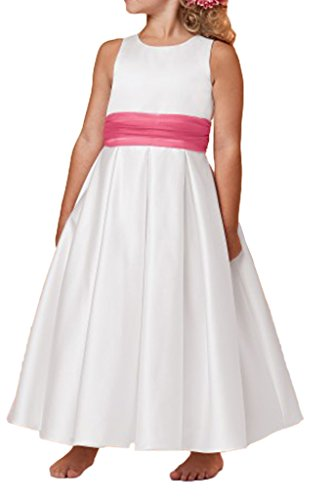 Missdressy - Vestido - trapecio - para mujer blanco