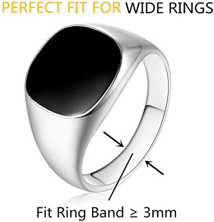 Likimar Ring Size Adjuster for Loose Rings Invisible Ring Sizer For Wide Rings