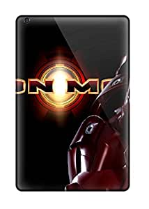 Rugged Skin Case Cover For Ipad Mini 3- Eco-friendly Packaging(iron Man) 3940109K25519699
