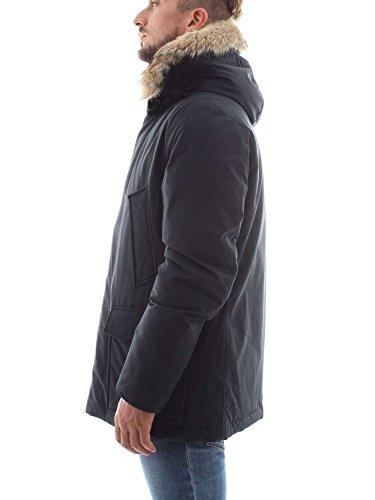 Con Inverno Blu Autunno xxl Collezione Woolrich 18 Giubbotto Pelliccia Nuova 17 15wRR