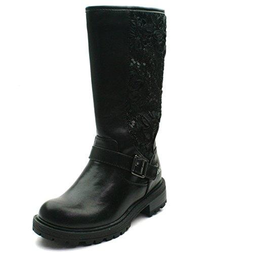 Look Zipup Sixty avec botte Girls dentelle zip pour filles Miss Lacey in Haute Black en gt; noir for avec High Boot MS057 gt; les Bwv5qEx