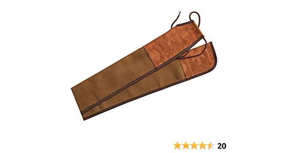 """Light Brown New Longbow Bow Bag Sleeve Case Soft Suede 72/"""" Long"""