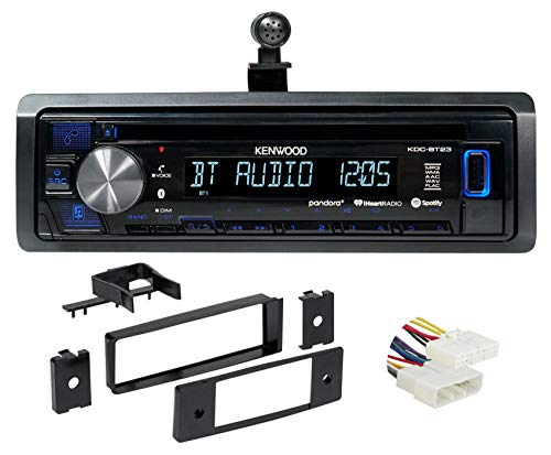 in-Dash Kenwood CD Receiver w/Bluetooth iPhone/Pandora for 96-98 Honda Civic ()