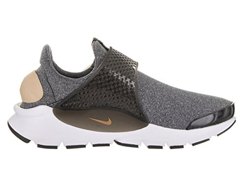 Nike Damessokken Dart Se Hardloopschoenen Zwart / Vachetta Tan-zwart-wit
