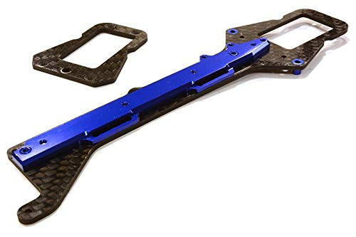 Integy RC Model Hop-ups C26498BLUE Machined Composite Chassis Upper Plate for Traxxas LaTrax Teton 1/18 Truck