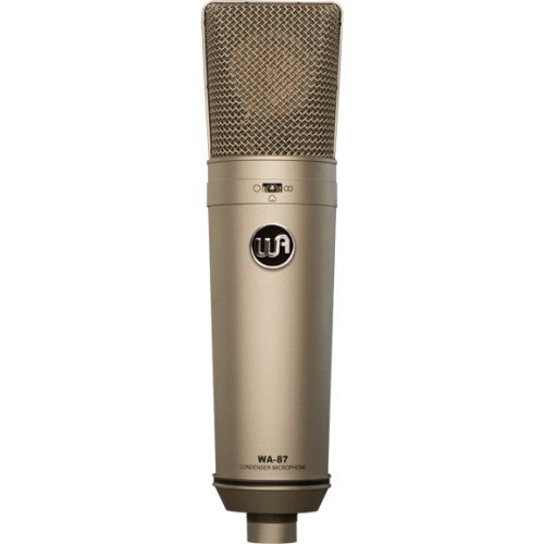 Warm Audio WA-87 Vintage-Style Condenser Microphone Nickel from Warm Audio