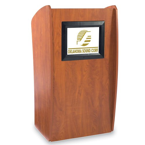 Vision Lectern With Lcd Display - 24X21x46
