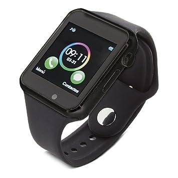 Bluetooth Smartwatch [Correa suave], Reloj de pulsera ...