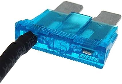 Sicherung Mit Abgriff 15a Stromdieb Kabel Auto Elektronik