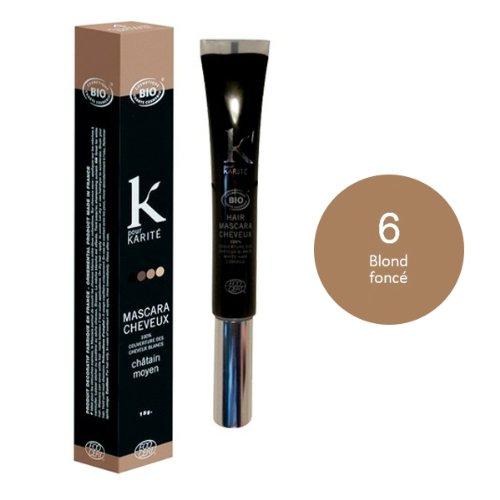 K pour Karité Mascara Biondo Scuro N° 615g