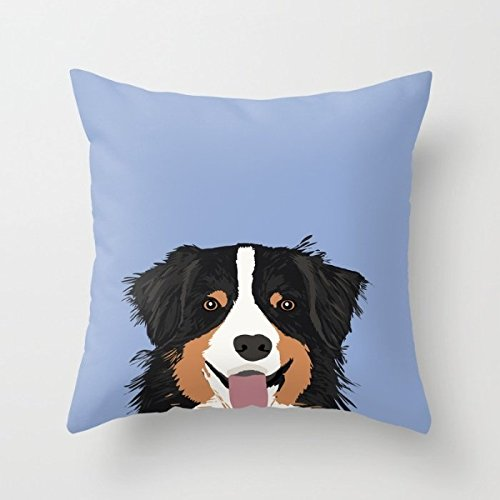[The Dogs Throw Cushion Covers Of ,16 X 16 Inches / 40 By 40 Cm Decoration,gift For Outdoor,bar,study Room,relatives,her,car Seat (both] (Bull Rider Costume Toddler)