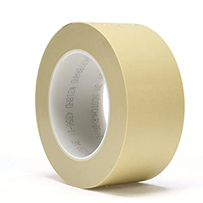 Box Partners 3M Scotch 218 Polypropylene Masking Tape, 250 Degree F Performance Temperature (T937218)