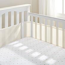 BreathableBaby Breathable Mesh Crib Liner, Ecru