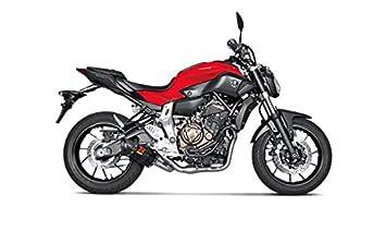 yamaha fz 07. akrapovic yamaha fz-07 2015 - 2016 carbon racing full exhaust system s-y7r2 fz 07