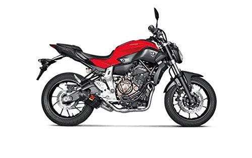 Akrapovic Y-pipe - Akrapovic Yamaha FZ-07 2015 - 2016 Carbon Racing Full Exhaust System S-Y7R2-AFC