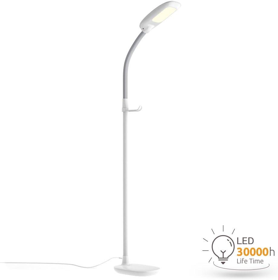 Led Schreibtischlampe Aglaia Tischlampe 7w 12 Leds Leseleuchte