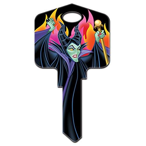 Disney Maleficent Kwikset KW1 House Key New