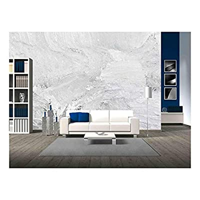 Charming Piece of Art, Background Texture Pattern of Disintegrating Candelized Melting Ice, With a Professional Touch