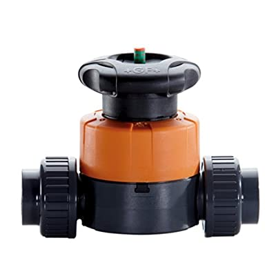 "1-1/4"" PVC Type 514 High Flow Diaphragm Valve from Georg Fischer"