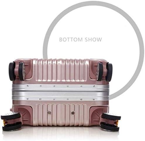 BXDYA スーツケース、ユニバーサルホイール、アルミフレーム荷物、トロリーケース、耐摩耗性と耐衝撃シャーシスーツケース