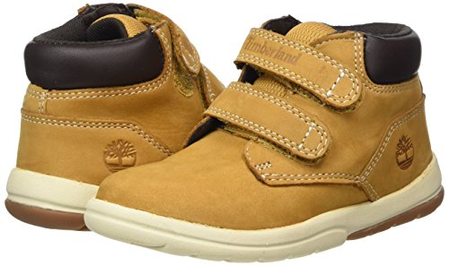 Timberland Baby Toddle Tracks Hook and Loop Ankle Boot, Wheat Nubuck, 9 M US Toddler by Timberland (Image #5)