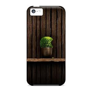 Plant Shelf Fashion Tpu 5c Case Cover For Iphone