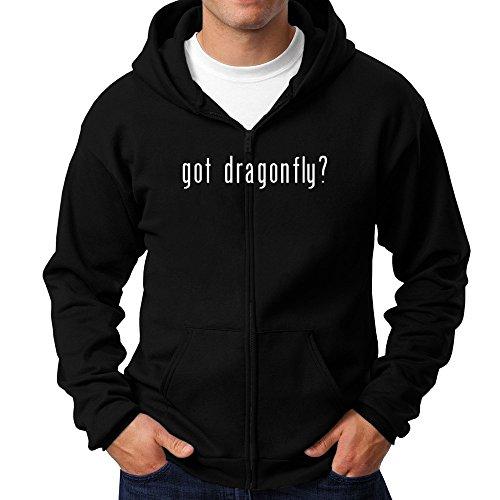 Dragonfly Zip Hoodie - 9