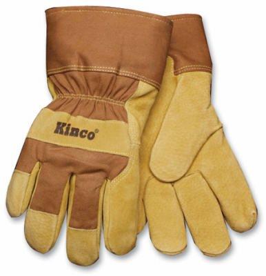 LINED SUEDE PIGSKIN GLOVE Pigskin Utility Gloves