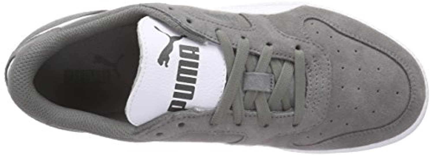 Puma Unisex Kids' Icra Trainer SD Jr Low-Top Sneakers Grey Size: 1 UK